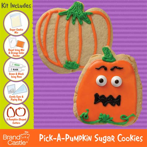 Product Find Pumpkin Sugar 3 by A Pumpkin Sugar Cookie Kit Crafty Cooking Kits