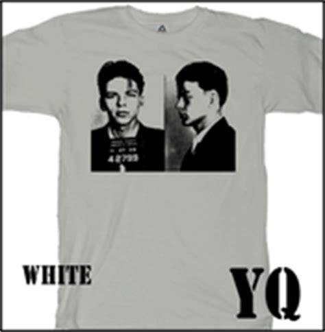 mugshot t shirt madness gangsta s and maniacs be a fashion criminal