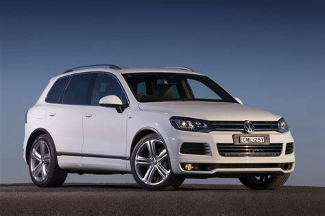 Volkswagen Cars News 2013 Touareg V8 Tdi R Line On Sale