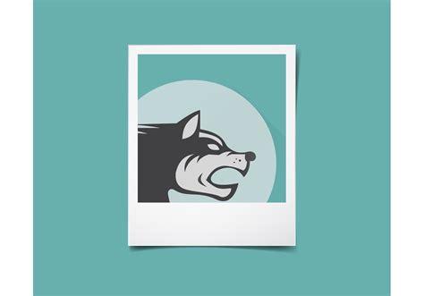 polaroid vector template download free vector art stock