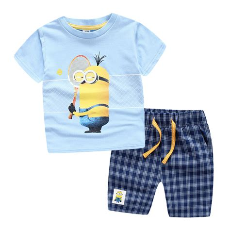 Boyset Top N Pant 10 3 10 years children clothing set t shirt tops 100 cotton sports suit summer casual