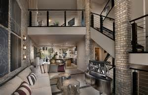 sky loft thin brick interior contemporary living room