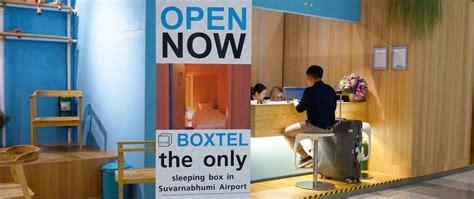 bangkok airport sleeping rooms new compact sleepbox service boxtel opens at suvarnabhumi airport new thai hotels