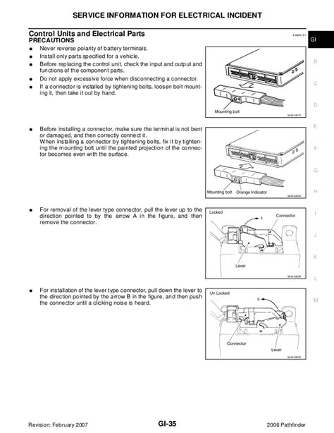 service and repair manuals 2006 nissan pathfinder interior lighting 2006 nissan pathfinder service repair manual