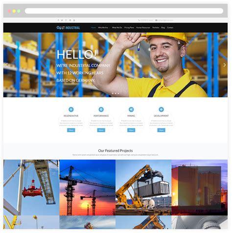 themes wordpress engineering lt industrial free responsive engineering industrial