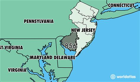 us area code new jersey where is area code 856 map of area code 856 camden nj
