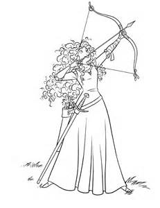 brave coloring pages disney coloring pages