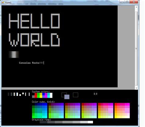 Editor Ahensi galaxy e ansi editor 256 colors