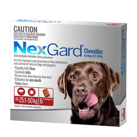 for dogs nexgard for large dogs 25 1 50kg