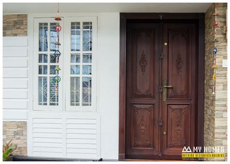 Front Door Website Kerala Homes Designs And Plans Photos Website Kerala India