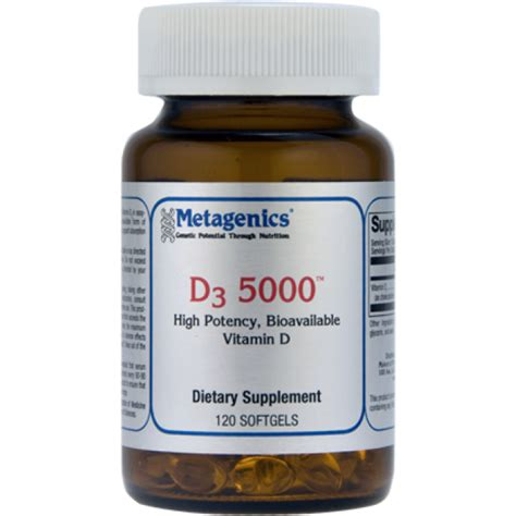 Duluth Mn Detox Reviews by Metagenics D3 5000 120 Softgels The