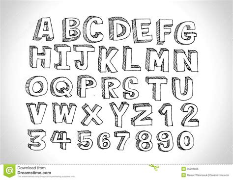 hand drawn pattern font 7 best images of cool hand drawn letter fonts how to