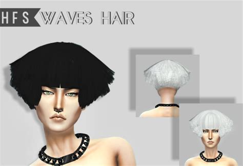 hfs braided hair sims 3 haut fashion sims hfs presents ep 11 waves hair conversion