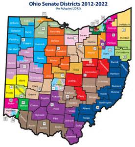 Ohio District Map by Ohio Voters Approve State Legislative Redistricting Reform