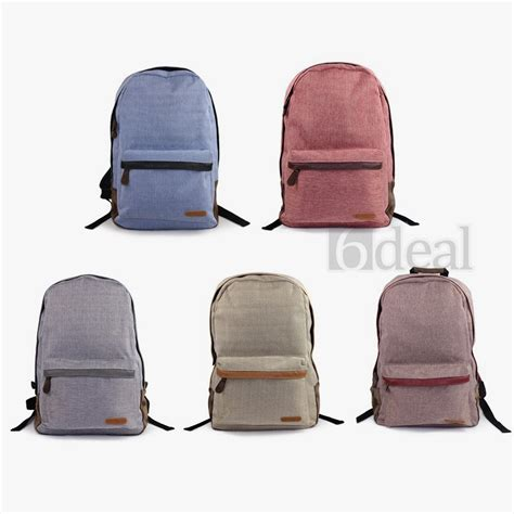 Backpack Import 98102 3 Warna tas fashion casual ransel casual backpack import preorder