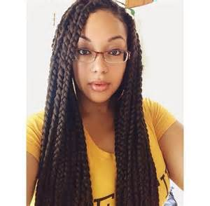 medium box braids with color 42 best big box braids styles with images beautified designs