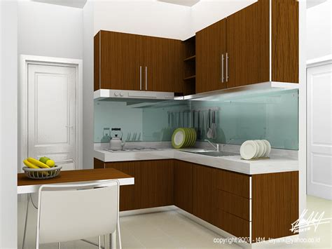 simple kitchen interior simple kitchen at senayan by sakta on deviantart