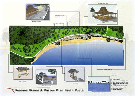 term master kotakitaku masterplan pariwisata pantai pasir putih