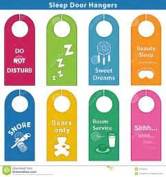 Keep Out Signs For Bedroom Doors sleep bedroom door hanger signs brights stock images