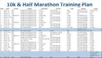 To 10k Program by Half Marathon Plan Foxy Whole Foodie
