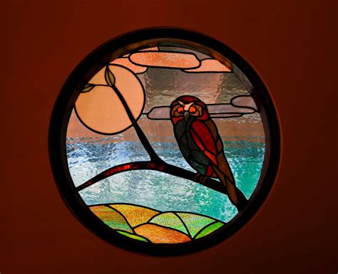 stained glass owl l moore river holidays accommodation bedding configuration