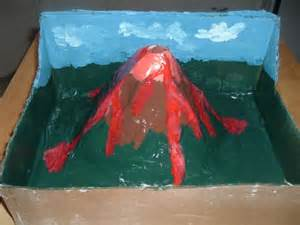 How To Make A Volcano Model Out Of Paper Mache - five activities for a children s science club