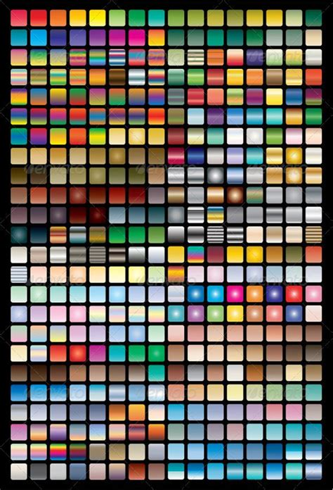 add pattern to swatches illustrator vector swatches gradients for illustrator graphicriver
