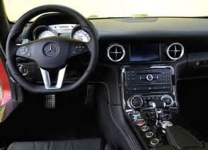 cars world mercedes sls amg interior