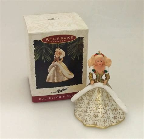 hallmark series ornament 1994 holiday barbie 2 qx5216