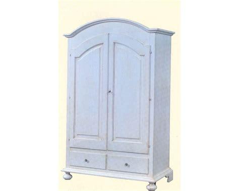 armadio stile country armadio legno bianco anticato invecchiato stile country
