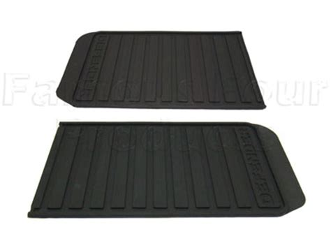 Second Rubber Matting by Floor Mats Carpets For Land Rover 90 110 And Defender