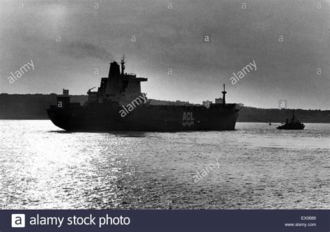 british merchant navy ships the atlantic conveyor a british merchant navy ship was