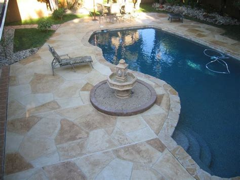 stone pool deck stone decking around pools interior decorating las vegas