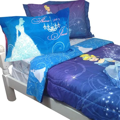 Disney Cinderella Bed Set Disney Cinderella Bedding Sparkles Bed Set