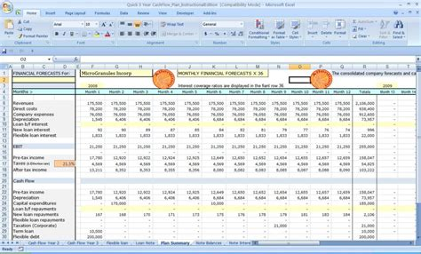 cash flow excel spreadsheet template spreadsheet templates
