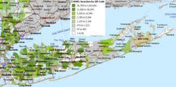 Long Island Zip Code Map long island ny zip code map
