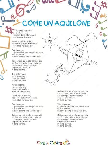 testo e della canzone per una canzone per bambini ha partecipato allo
