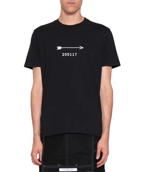 givenchy shirt givenchy givenchy printed cotton t shirt nero s sleeve t shirts italist