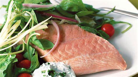 serve  salmon