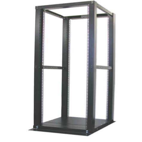 42u Open Frame Rack by 42u Adjustable 4 Posts Open Frame Server Rack Black Color