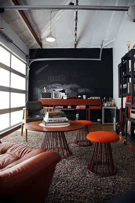 office in garage 20 chalkboard paint ideas to transform your home office