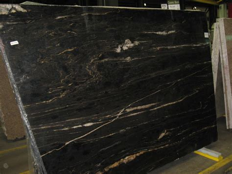 Black Cosmic Granite Countertops by Cosmic Black Granite