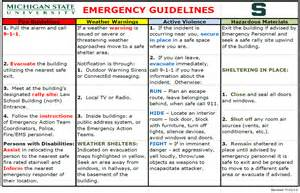 Emergency Response Policy Template by Emergency Response Plan Erickson College Of