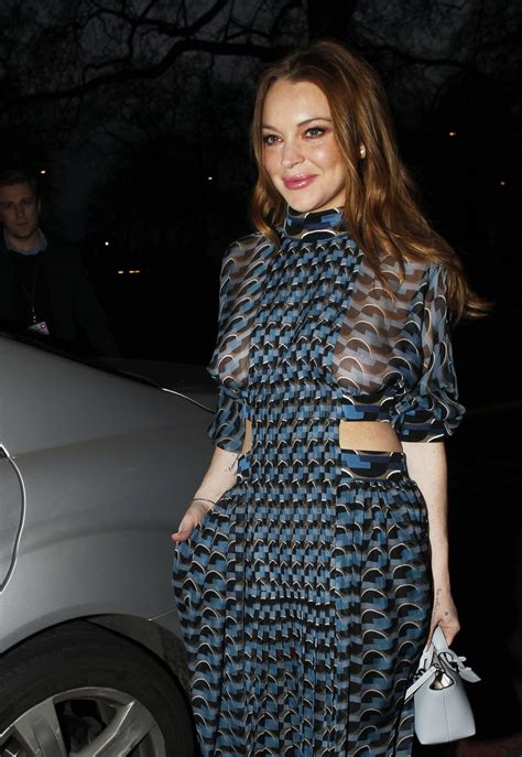 Who Is Lindsay Lohan Fing Now by Lindsay Lohan Seethru To At Asian Awards In
