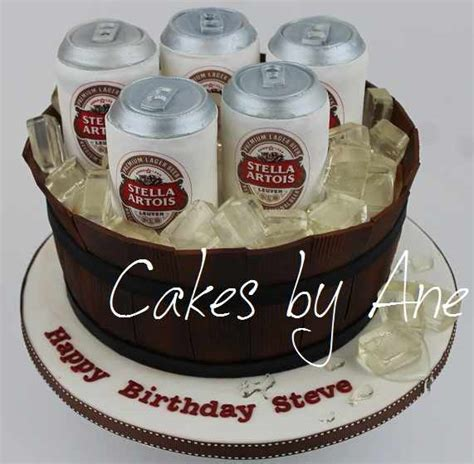 beer barrel cake cakes by ane