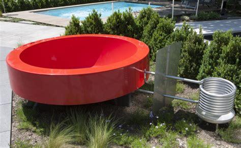 tauchbecken outdoor tub 2 0 outdoor badewanne orange ideal