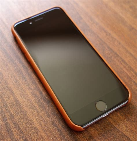 Iphone 7 Or 8 Leather Saddle Brown image gallery iphone 6s leather