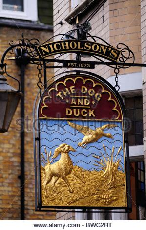 and duck pub the and duck pub soho uk stock photo royalty free image