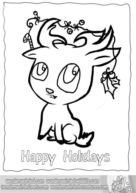 coloring pages of cute reindeer printable cartoon reindeer christmas coloring pages
