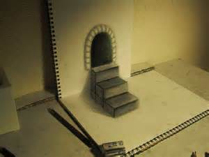 How To Draw 3d Stairs On Paper by 25 Stunning 3d Optical Illusion Drawings Top Design